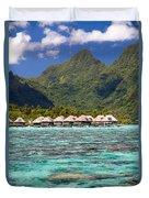 Moorea Lagoon No 3 Duvet Cover