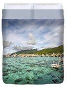Moorea Lagoon Resort Duvet Cover