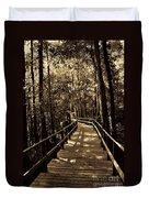 Moores Creek Battlefield Nc Swamp Walk  Duvet Cover