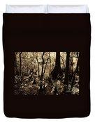Moores Creek Swamp Duvet Cover