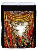 Moorish Market In Granada 2 Duvet Cover