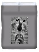 Moose Cabin Duvet Cover