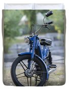 Moped Duvet Cover