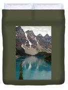 Moraine Lake - Alberta - Canada Duvet Cover