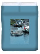 More Boats Duvet Cover