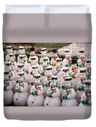 More Snowmen Duvet Cover