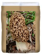 Morel-ly Awesome Duvet Cover