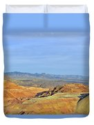 Morenci - A Beauty Of A Copper Mine Duvet Cover