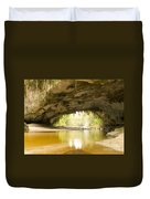 Moria Gate Arch In Opara Basin On South Island In Nz Duvet Cover