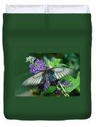 Mormon Butterfly Duvet Cover