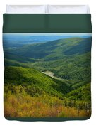 Moormans River Overlook In Spring Duvet Cover