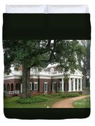 Morning At Monticello Duvet Cover