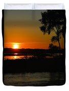 Morning At The Marsh 2 Duvet Cover