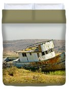 Morning At The Pt Reyes Duvet Cover by Bill Gallagher
