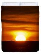 Morning Blaze Duvet Cover