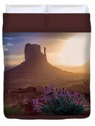 Morning Bloom Duvet Cover