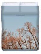 Morning Coloured In Fall Duvet Cover