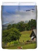 Morning Cow Duvet Cover
