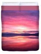 Morning Dawn Duvet Cover by Michael Pickett