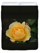 Morning Dew Rose Duvet Cover