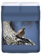 Morning Dove Duvet Cover