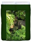 Morning Ferns Duvet Cover