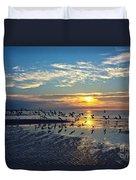 Morning Flight Duvet Cover