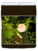 Morning Glory Glow Duvet Cover