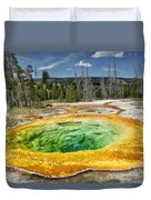Morning Glory Pool Duvet Cover
