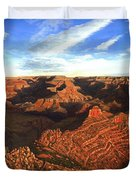 Morning Glory - The Grand Canyon From Kaibab Trail  Duvet Cover