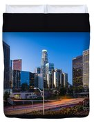 Morning In Los Angeles Duvet Cover by Inge Johnsson