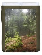 Morning In The Forest Duvet Cover