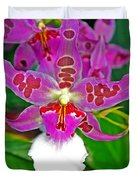 Morning Joy Orchid Duvet Cover