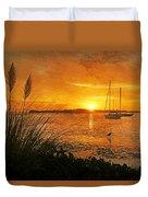 Morning Light - Florida Sunrise Duvet Cover