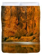 Morning Light In The Canyon Duvet Cover