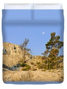 Morning Mammoth Moon Duvet Cover