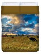 Morning On The Farm Two Duvet Cover