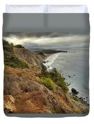 Morning Pacific Storm Clouds Duvet Cover