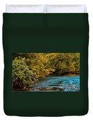 Morning River Duvet Cover