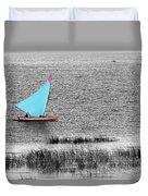 Morning Sail Duvet Cover by James Brunker