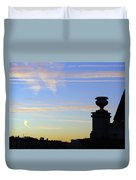 Morning Silhouette Duvet Cover