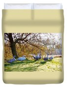 Morning Stretch - Impressions Duvet Cover