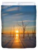 Morning Stretch Duvet Cover