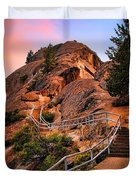 Moro Rock Path Duvet Cover
