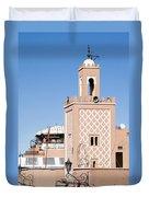 Morocco Mosque Duvet Cover