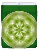 Morphed Art Globe 27 Duvet Cover
