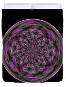 Morphed Art Globe 28 Duvet Cover