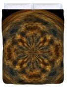 Morphed Art Globe 29 Duvet Cover