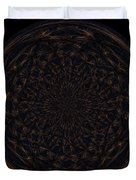 Morphed Art Globe 31 Duvet Cover by Rhonda Barrett