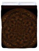 Morphed Art Globe 32 Duvet Cover